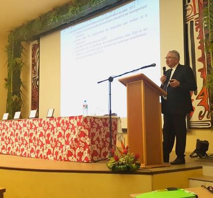 Séminaire du numérique éducatif : conférence et ateliers
