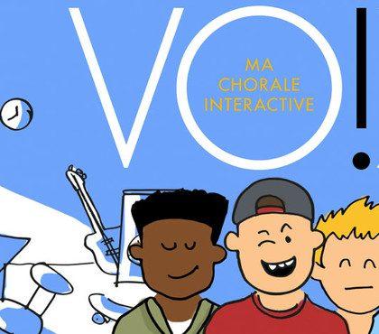 Donnez de la voix avec «Vox, ma chorale interactive»