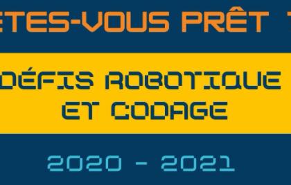 Accueil concours codage et robotique
